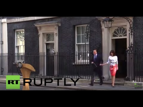 LIVE: UK's EU referendum: Cameron's statement after result announcement