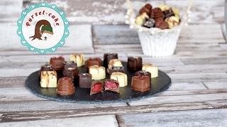 Himbeer Pralinen / selbstgemachte Pralinen/ Valentinstag/von Purzel-cake