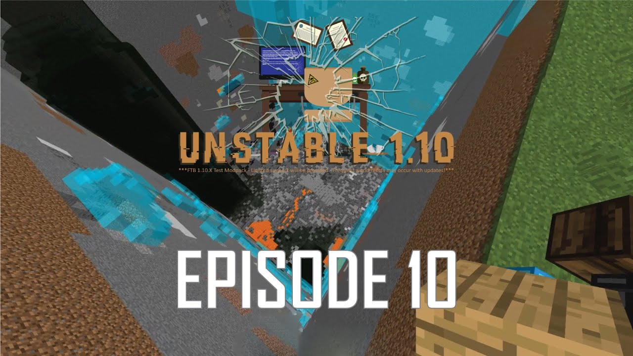 FTB Unstable 1 10 2 - 10 - IT'S QUARRY TIME, WELL BUILDER