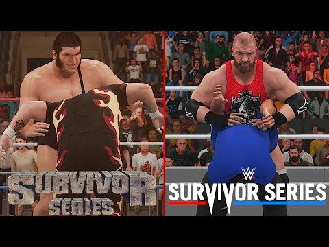 WWE 2K18: Every Main Event at Survivor...