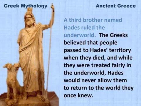 Ancient Greek Mythology - Mr  Dowling com