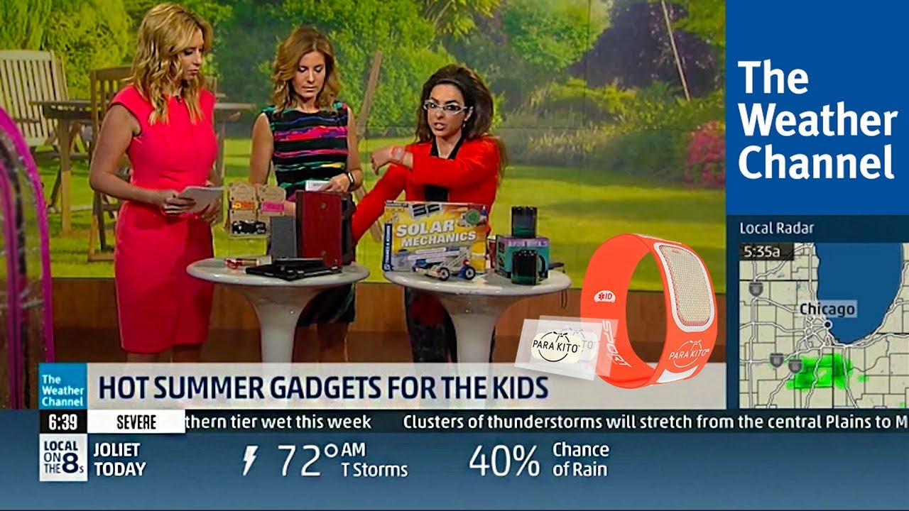 The Weather Channel - Hot Summer Gadgets | PARA'KITO®