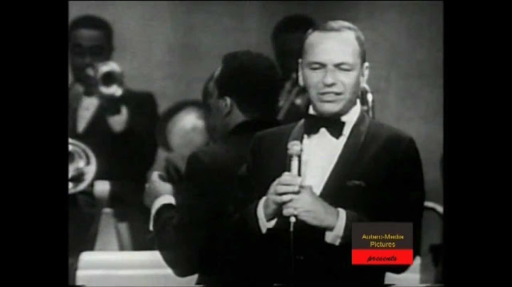 frank sinatra live  i only have eyes for you