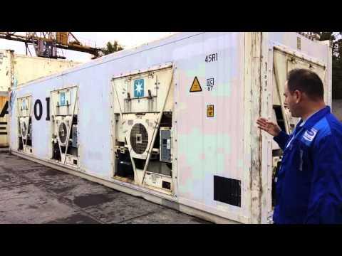 видео: thermo king встраивание 3х дополнительных агрегатов в рефконтейнер от global container service