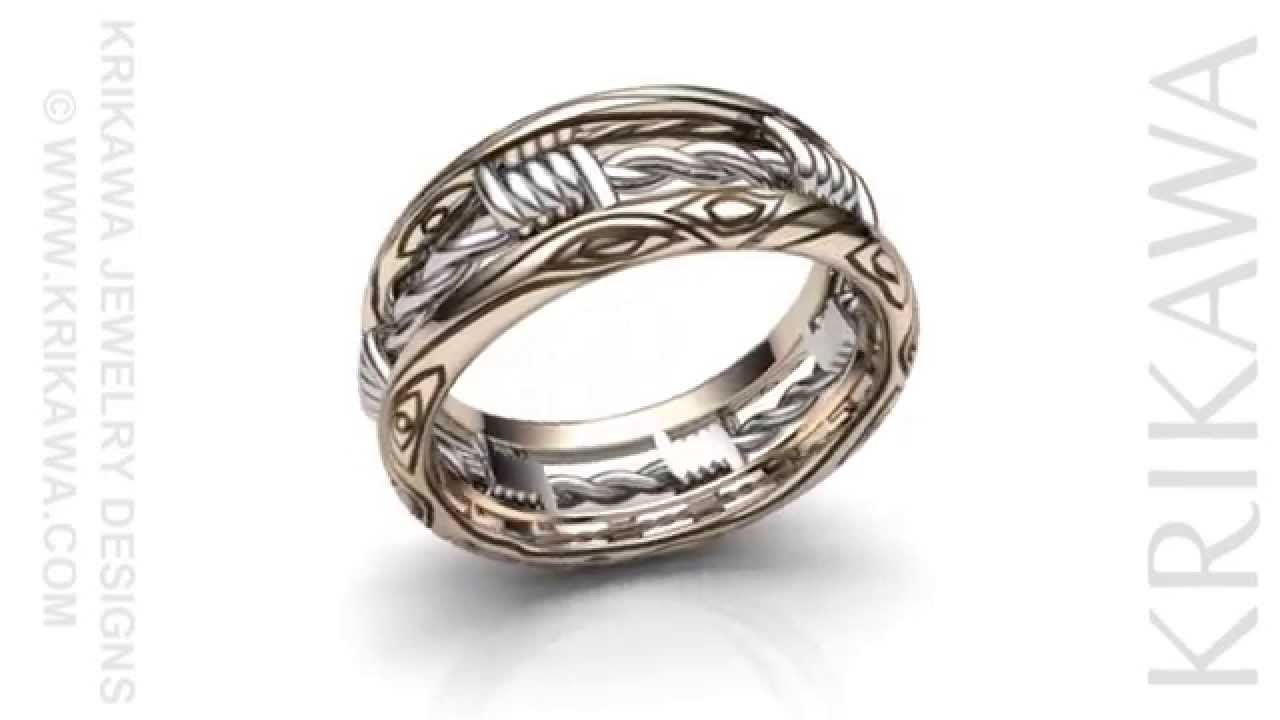 How To Make A Mens Wire Ring