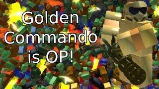 GOLDEN COMMANDO | Roblox tower battles