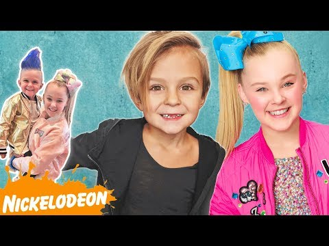 CASPIAN Join's Nickelodeon with JOJO SIWA!! | Slyfox Family
