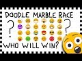Doodle Marble Race Emoji Who Will Win Hand Drawn Algodoo mp3
