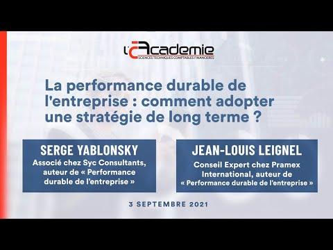 Les Entretiens de l'Académie : Serge Yablonsky & Jean-Louis Leignel