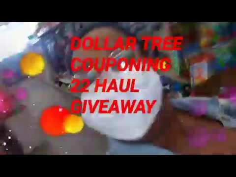 DOLLAR TREE COUPONING 22 ITEMS