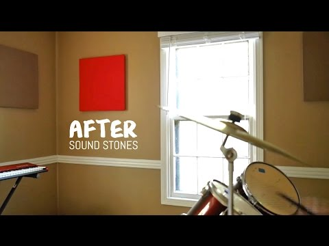 Home Recording Sound Panels - Acoustic Panels Music Room Demo