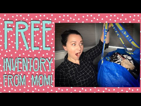 I SCORED AN IKEA BAG OF FREE INVENTORY FROM MY MOM! EILEEN FISHER, HOBO, KINDLE & MORE!