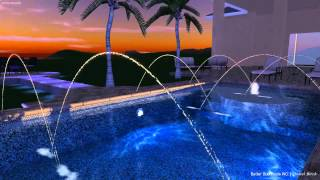 Better Built Pools/Mega Construction design for Jusakos Estate