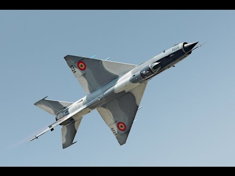 MiG-21LanceR - Air Show Radom 2015 - Romanian Air Force
