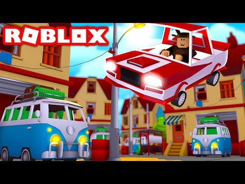 FLYING CARS IN ROBLOX! (Roblox Vehicle Simulator)