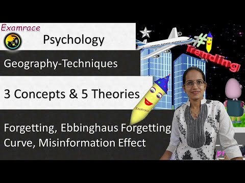 Unforgettable Forgetting - 3 Concepts and 5 Theories - General Psychology