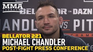 Bellator 221: Michael Chandler Says Ref 'Stuck His Head In The Sand And Ran' After Pitbull Stoppage