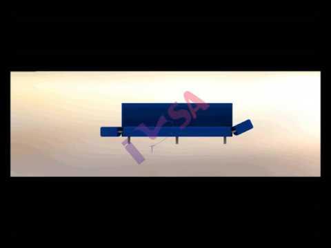 Kol Katlama Mekanizması (Dolu-Boş) - Active-Passive Profile Armrest Levelizer