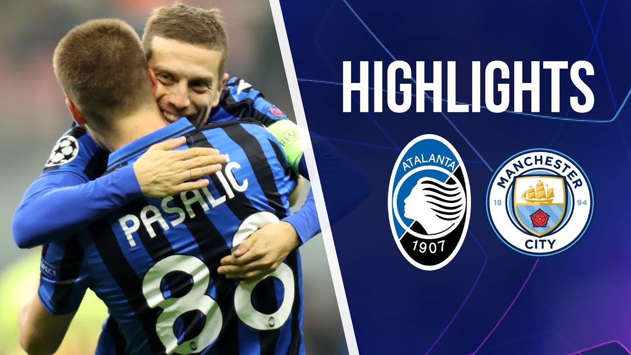 UCL 4 Atalanta-Manchester City 1-1 | Highlights