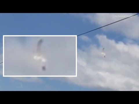 OVNI destruye otro Ovni, Rusia | 6 de Julio 2015 | UFO crash sighting