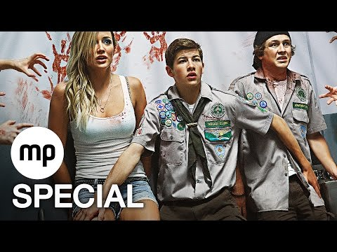 SCOUTS VS. ZOMBIES Trailer & Film Clips German Deutsch (2015) Zombie Splatterkomödie