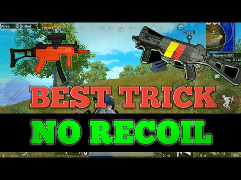 UMP9 No Recoil   Sensitivity settings for beginners   ADS Control