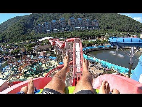 Coaster Blaster Water Slide at Ocean World