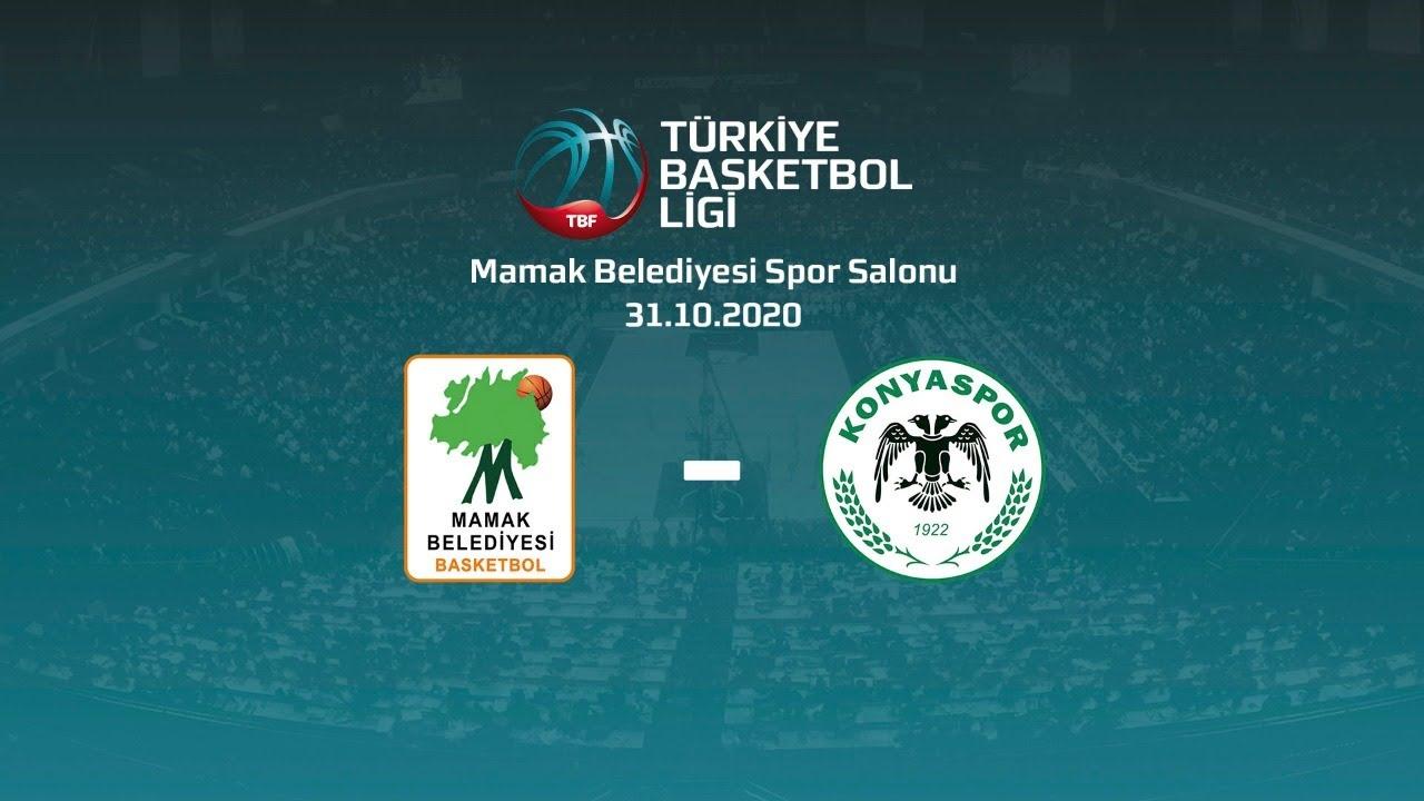 Mamak Belediyesi – Büyükşehir Hastanesi Konyaspor Basketbol TBL 3.Hafta