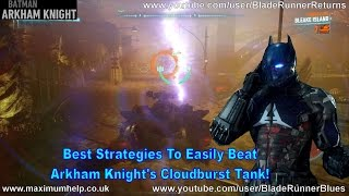 Best Strategies To Easily Beat Arkham Knight