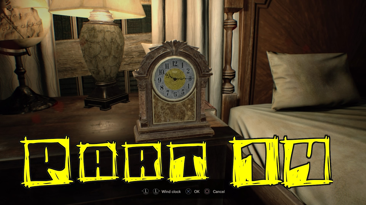 Resident Evil 7 Biohazard Gameplay Walkthrough Part 14 Clock Puzzle Solution Youtube