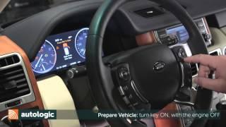 Land Rover L322 Oil Level Check