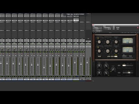 how to use compression on drums