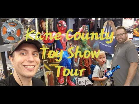 Largest TOY Show in the World ( Kane County / Chicago )  Best Tour - Action Figure  Paradise
