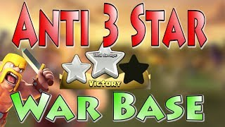 Anti 3 Star War Base | Proving this 2018 Base Works! | Best Anti Falcon TH10 Base | Clash of Clans