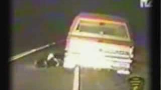 Police Taser Drunk Driver Resisting Arrest