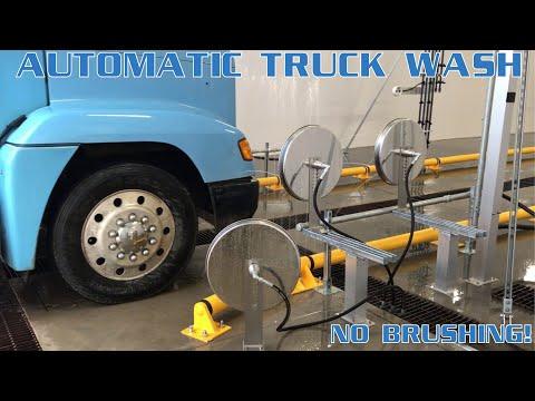 Automated Vehicle Wash System | Big Truck Wash | Hydro-Chem Systems | No Brushing!