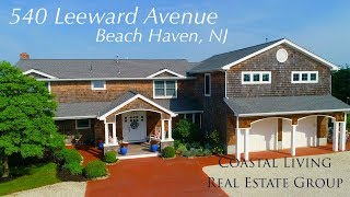 Webster's Lagoon Family Home in Beach Haven | 540 Leeward Ave | Coastal Living