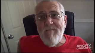 Angry Grandpa Is On Helium - Hamburger Pie Meltdown