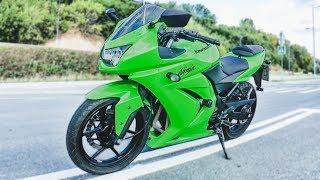 Мот, конечно, неплохой.. Только ссытся и глухой. Kawasaki 250r Ninja