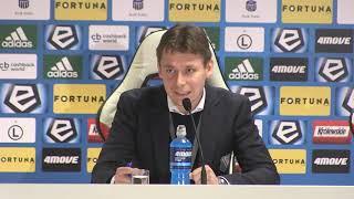 Ricardo Sa Pinto po meczu Legia - Cracovia (0:2)