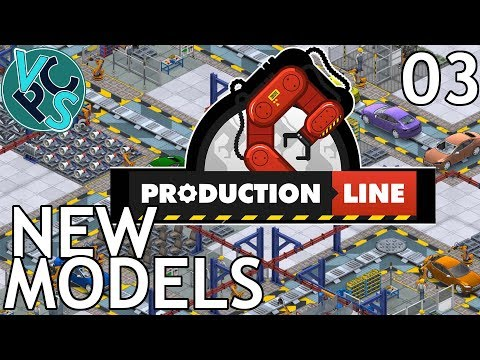 Production Line EP03 - New Models - Alpha 1.43 Manufacturing Tycoon Gameplay