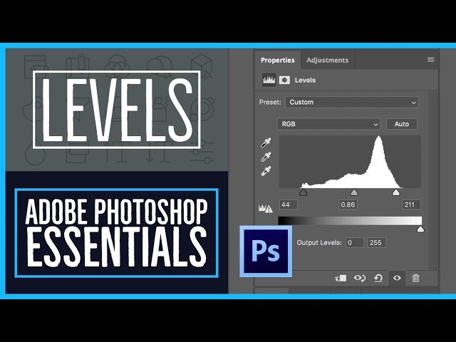 How to fix an image using levels in Photoshop CC - Photoshop CC Essentials [5/86]