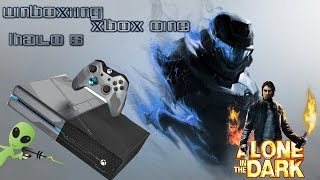 Unboxing Xbox One Halo 5: Guardians Edição Limitada + Alone in the dark limited edition