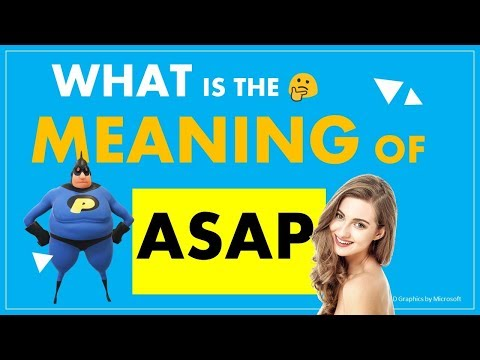 ASAP - What Is The Meaning Of Internet Slang
