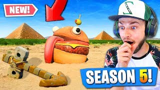 SEASON 5 secrets *FOUND* in Fortnite: Battle Royale!