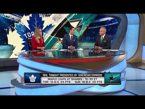 NHL Tonight:  Leafs Zone Entries:  A discussion about the Maple Leafs power play  Nov 15,  2018