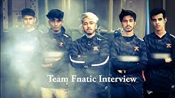 Team FNATIC Interview | PMCO South Asia Playins