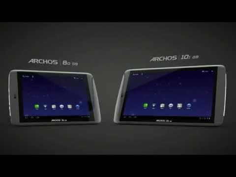 Archos 80 G9, Archos 101 G9