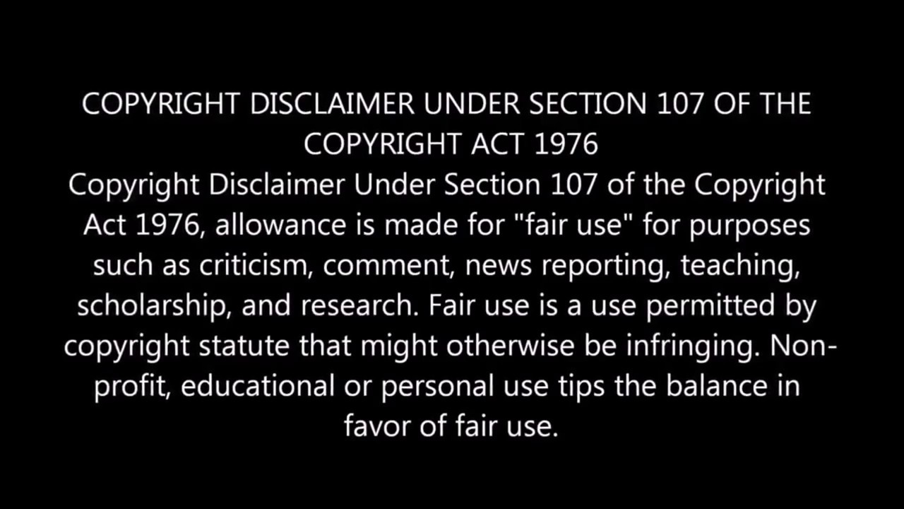 Copyright Disclaimer 2017 Youtube