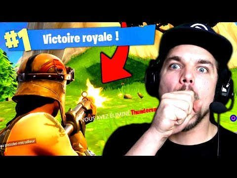 TOP 1 avec la NOUVELLE ARME de FORTNITE: Battle Royale !!
